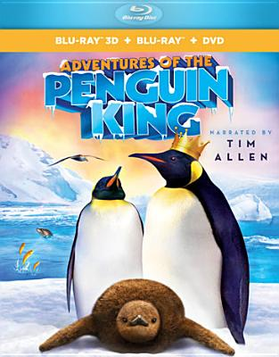 ADVENTURES OF THE PENGUIN KING 3D BY ATTENBOROUGH,DAVID (Blu-Ray)